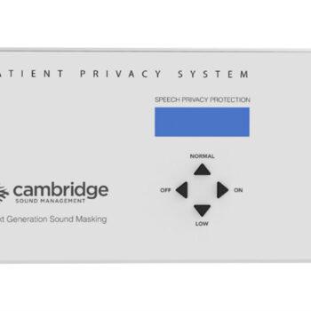 Cambridge Sound Qt Patient Privacy System