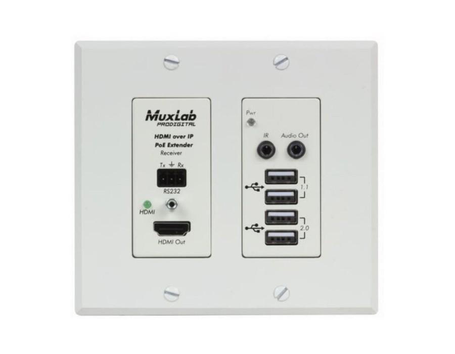 Muxlab MUX-500777-RX-WH